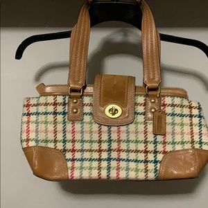 CoachHampton wool Tattersall